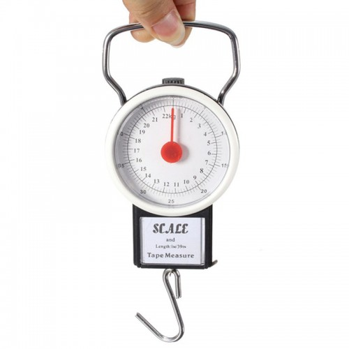 High Quality Portable 22kg Scales Luggage Suitcase Travel Bag Weight Hanging Hook