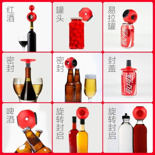 Perfect Opener Multi-function 8 In 1 Bottle Can Openers Household High Quality