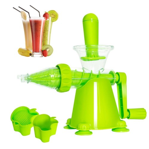 Multifunction Manual Hand Juicer Fruit Vegetable Extractor Portable DIY  Kitchen Tools With Suction Base