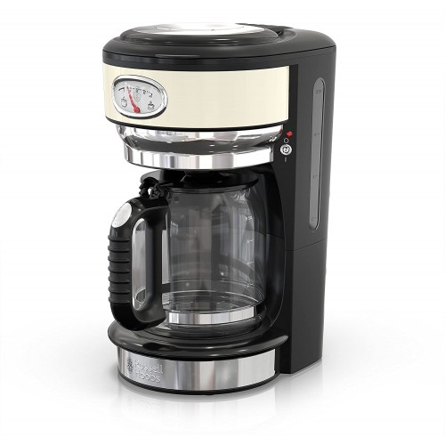 Russell Hobbs CM3100CRR Retro Style 8-Cup Coffeemaker
