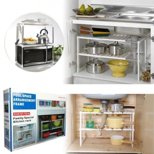 Adjustable Pool Space Arrangement Frame Family Special Kitchen Rack