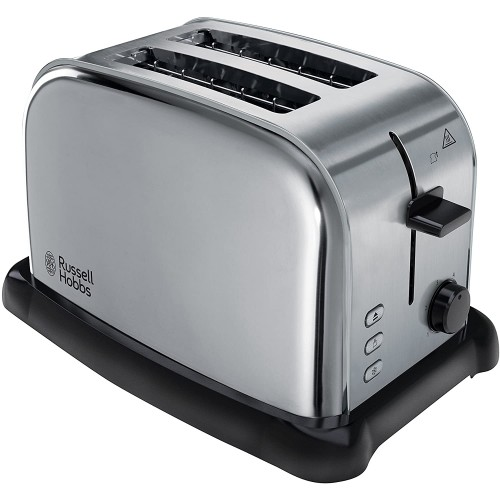 Russell Hobbs 22360 Wide Slot 2-Slice Toaster Stainless Steel