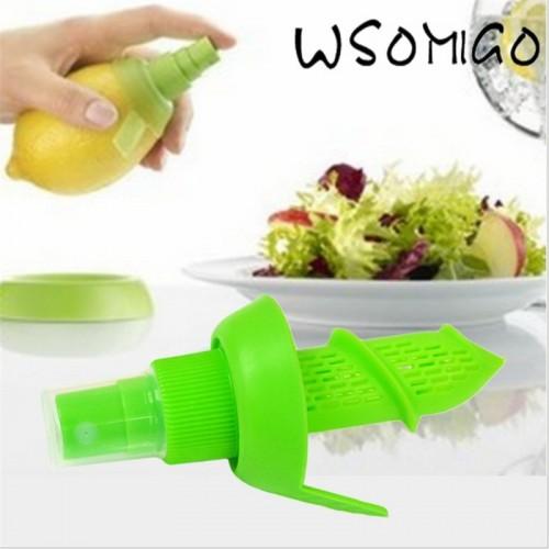 Cheap 2Pc set Lemon Sprayer Fruit Juice Citrus Lime Juicer Spritzer Kitchen Gadgets Spray Manual Juicer
