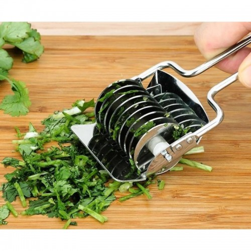 Gadget Stainless Steel Onion Chopper Slicer Garlic Coriander Cutter Cooking Tool for kitchen good helper