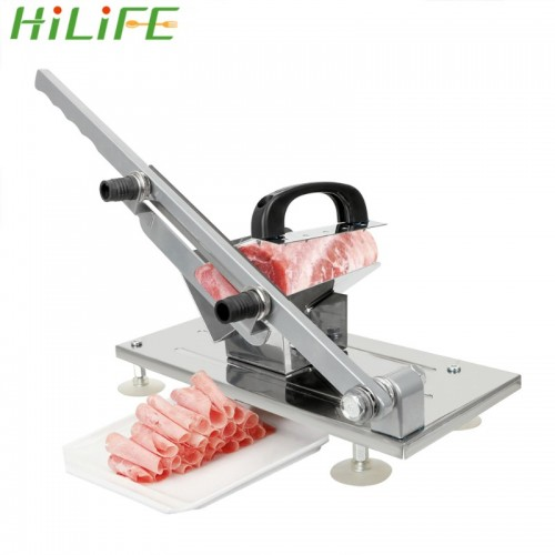 HILIFE Mutton rolls Makers Lamb Beef Slicer Frozen Meat Cutting Gadgets Manual Slicers Cooking Tools Kitchen