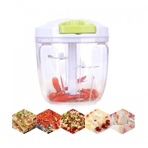 Multifunction Manual Meat Grinder Home Kitchen Tool Processors Food Chopper Mincer Mixer Blender Chop Fruit Vegetable