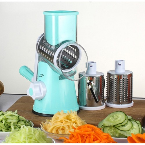 Multifunctional Drum type Hand operated Vegetable Cheese Shredder Device Kitchen Accessories