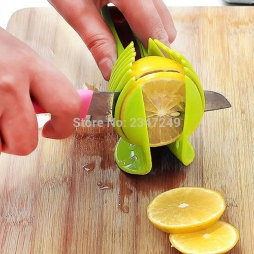 ULKNN Manual Slicers Tomato Slicer Fruits Cutter Tomato Lemon Cutter Assistant Lounged Cooking Holder Kitchen Tools