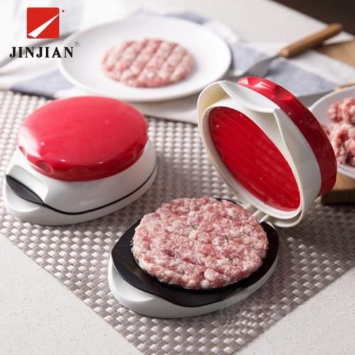 JINJIAN New DIY Hamburger Meat Press Tool New Cutlets Press Mold Food Grade Plastic Hamburger