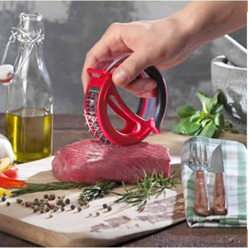 Professionals Meat Meat Tenderizer Needle With Easy prep grind meat is Stainless Steel Kitchen hamburger Tools