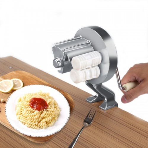 Handmade Spaghetti Pasta Maker Cutter Aluminum Alloy Fettuccine Noodle Press Making Machine.jfif