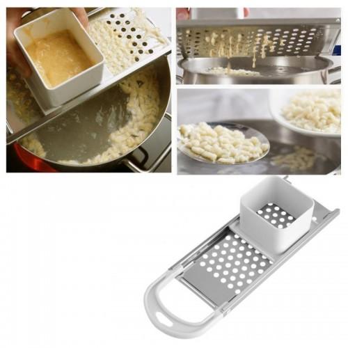 Pasta Machine Manual Noodle Spaetzle Maker Stainless Steel Blades Dumpling Maker Pasta Cooking Tools Kitchen Accessories.jfif