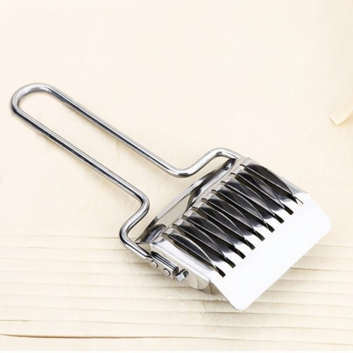 Steel Dough Noodles Bread Pie Pastry Lattice Roller Bake Cutter Slicer.jfif