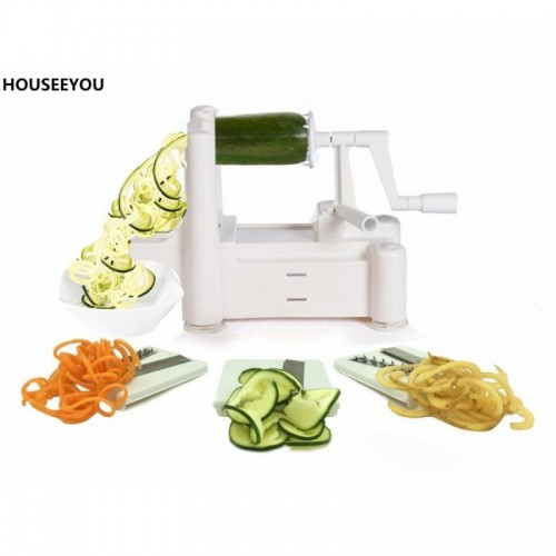 Vegetable Spiral Slicer Strongest Heaviest Best Veggie Pasta Carrot Spaghetti Pasta Cutter Peeler Fruit Spiral Slicer.jfif