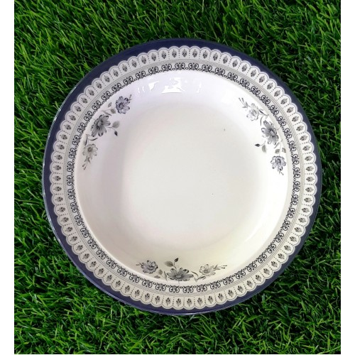 Plates Small Medium Large Glazed Melamine Home Kitchen High Quality