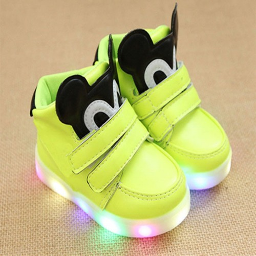 LED children casual boots cartoon Cool baby shoes boys girls casual high quality