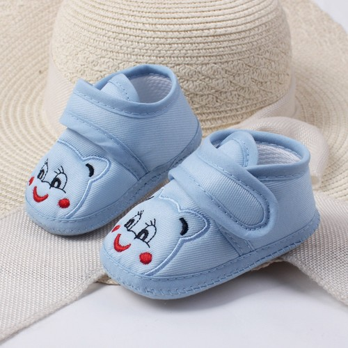 Lovely Baby Newborn Shoes Girl Boy Soft Sole Cartoon Anti slip Shoes Toddler Shoes Bebe Infant