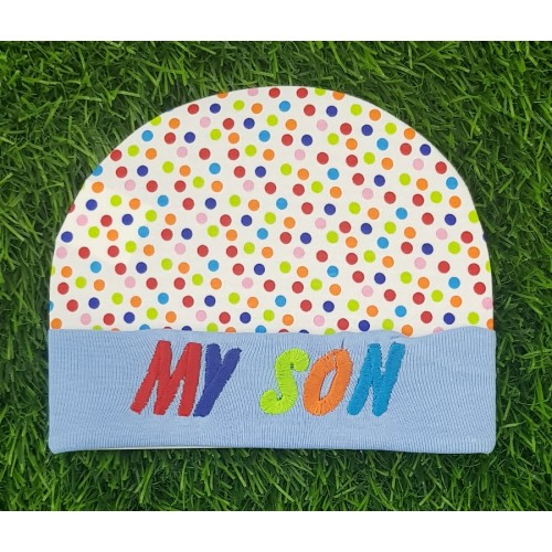 Embroidered Newborn Boy Girl Baby Caps 100% Cotton Infant Baby Hats 0-6M Baby