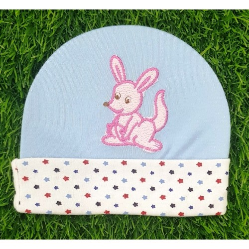 Newborn Boy Girl Baby Caps 100% Cotton Cartoon Embroidered Infant Baby Hats 0-6 M Baby