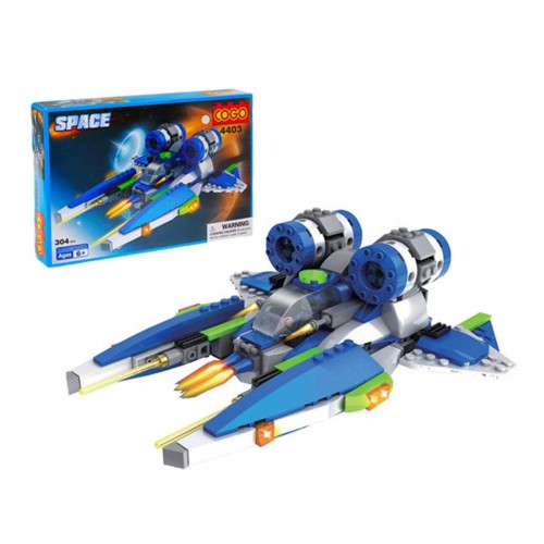 COGO Space Educational Building Blocks Toys For Children Rescue Ship Star War