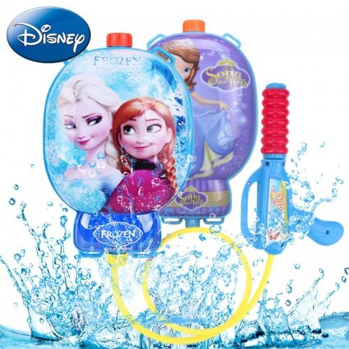 Disney Kids Blaster Water Gun Toys Outdoor Games Children Water Guns Backpack Colorful Beach Combat Squirt