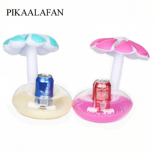 Float Inflatable Umbrella Tree Drink Cup Holder Mini Drink Pool Toy Outdoor Swimming Pool Beach