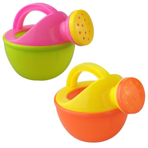 Random Color Baby Bath Toy Plastic Watering Can Beach Play Sand Toy Watering Pot