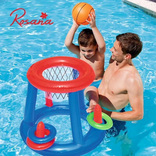 Summer Swimming Toys Giant Inflatable Volleyball Soccer Ball Game Pool Float Water Sport Island Floating Mattress