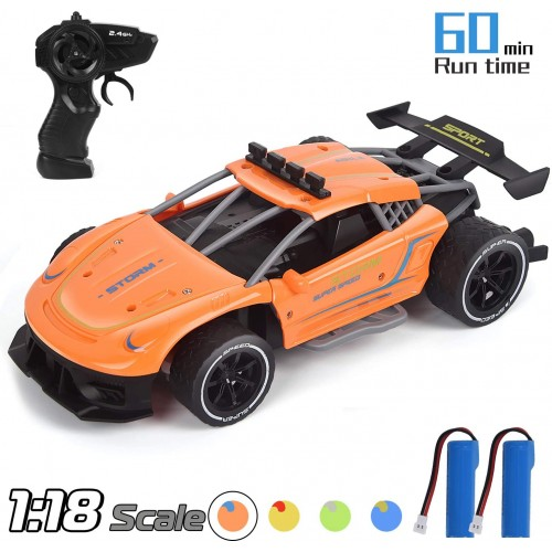 Drift RC Cars 1/18 Scale Remote Control 2.4Ghz High Speed Racing Sport Car Electric Toy