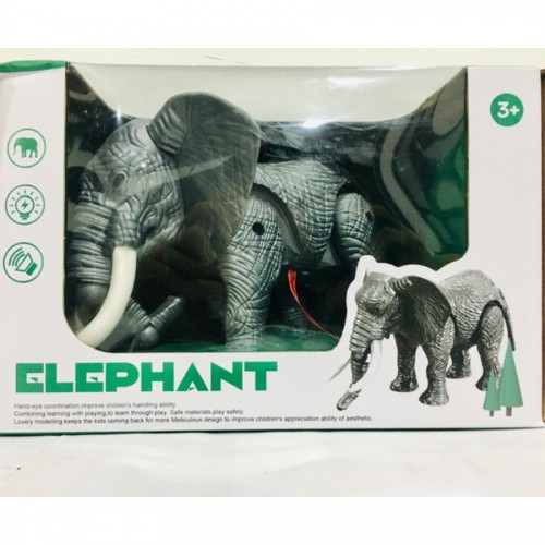 New Unique Design Walking Elephant Toy With Music And Sound