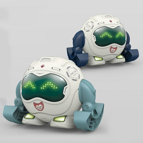 Smart Tumbling Voice Control Robot With Music And Light