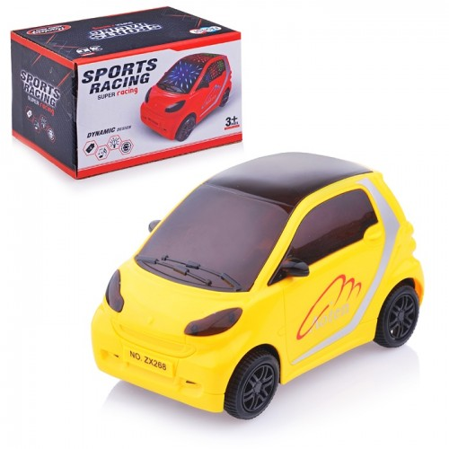 3D Battery Powered Convertible Car Toy With Music Lights