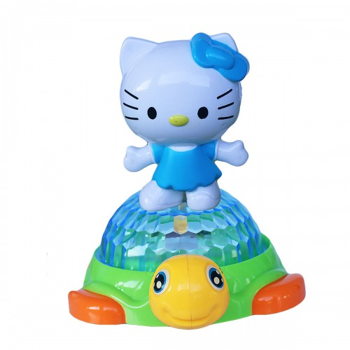 Hello Kitty Doll And Turtle Music 3D Light Kids Play Toy