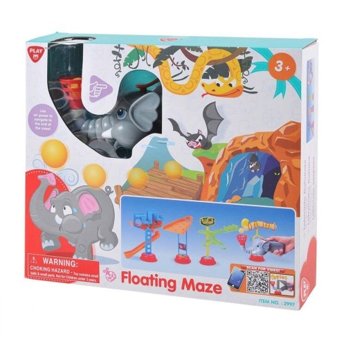 Floating Maze Kids Creative Multicolor Fun Play Toy