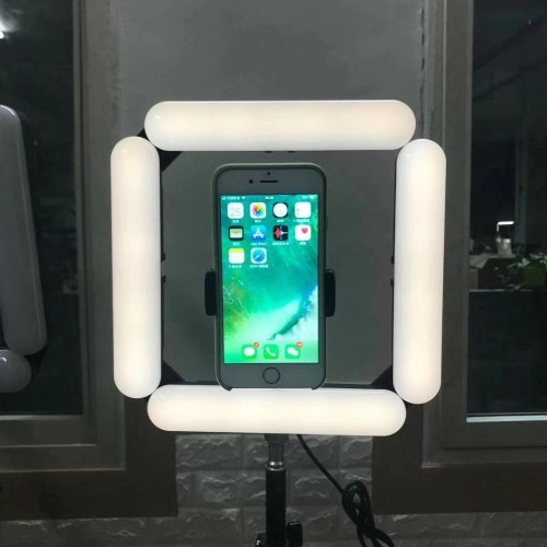 V84 Portable Foldable Mobile Phone 3 Modes Beauty Fill Light (4 lights)