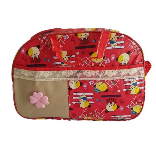 Portable Mommy Bag Bottle Storage Multifunctional Handbag Baby Diaper Make Up Bag