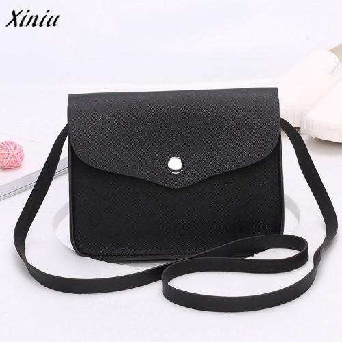 Fashion Women Leather Handbag Crossbody Shoulder Messenger Phone Coin Bag famous designer brand bags women leather