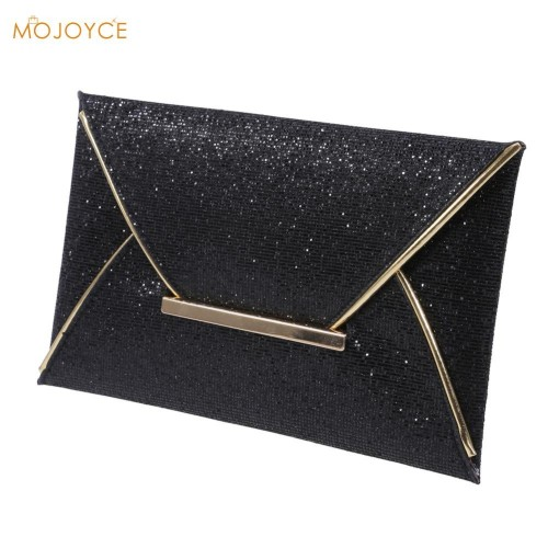 New Day Clutches Women Evening Bag Party Clutch Gold Sequins Envelope Bag Purse Clutch Handbags for