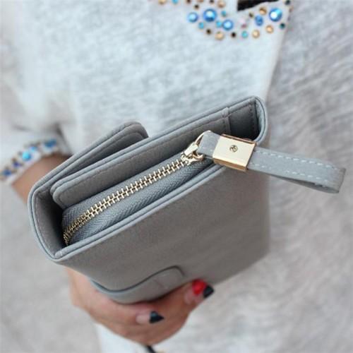 New Lady Women Bifold Purse Clutch Wallet Small Bag Card Holder Handbag Wedding Party