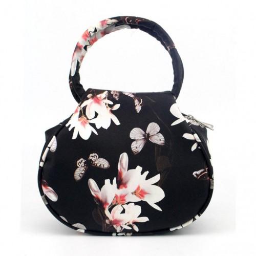 Women Bag Women Retro Small Floral leather Casual Clutch Bag Satchel Handbag Messenger Bag bolsa