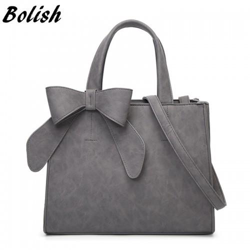 Bolish Drop shipping Vintage Shoulder Bag Female Causal handbag Lady Daily Shopping Crossbody Bag Bolsa Feminina