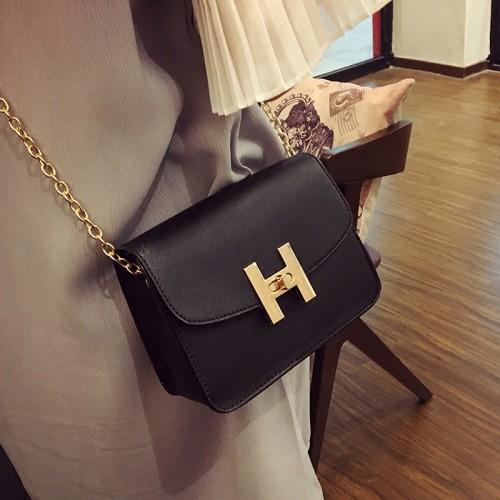 Free shipping new trend women handbags fashion simple flap retro Korean version shoulder bag chain