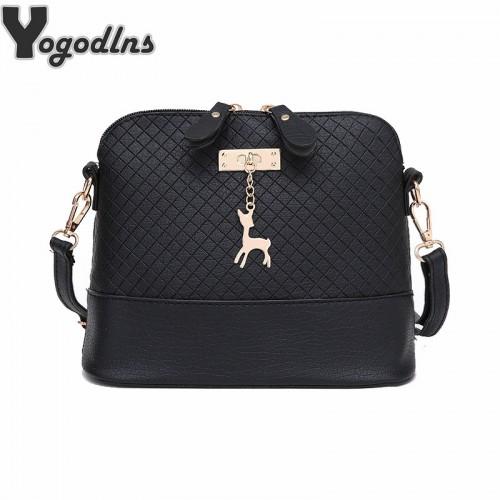 HOT SALE Women Messenger Bags Fashion Mini Bag With Deer Toy Shell Shape Bag Women