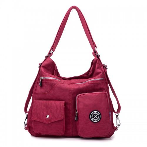 JINQIAOER New Waterproof Women Bag Double Shoulder Bag Designer Handbags High Quality Nylon Female Handbag bolsas