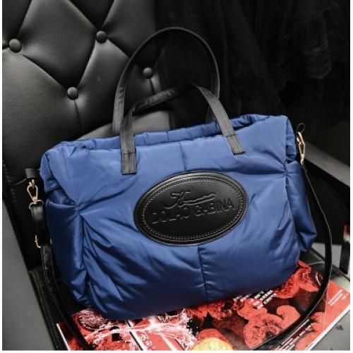 Winter Cotton Fashion Women Handbags Designers Brand Women Shoulder Bag Warm Tote Women Messenger Bags