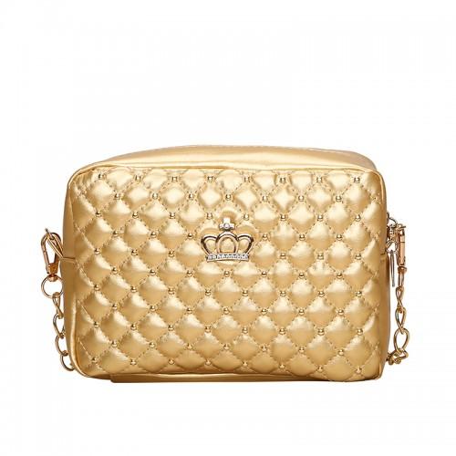 Women Bag Fashion Women Messenger Bags Chain Rivet Shoulder Bag High Quality PU Leather Crossbody