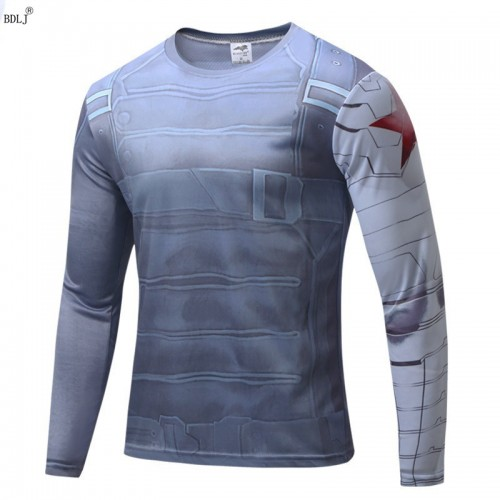 Motion Printed Long Sleeves Quick Dry T Shirt (16)