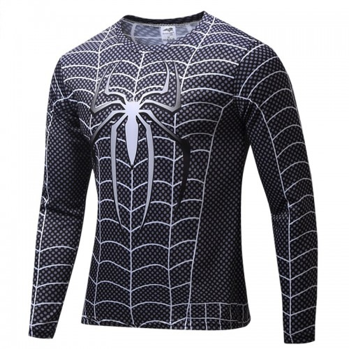 Motion Printed Long Sleeves Quick Dry T Shirt (15)