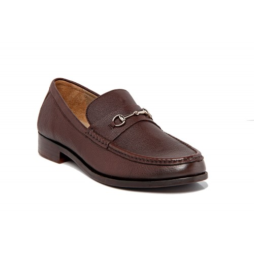 Castillo Genuine Leather Floater Eclipse Dark Brown Shoe