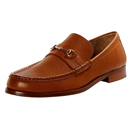 Castillo Genuine Leather Floater Eclipse Tan Shoe
